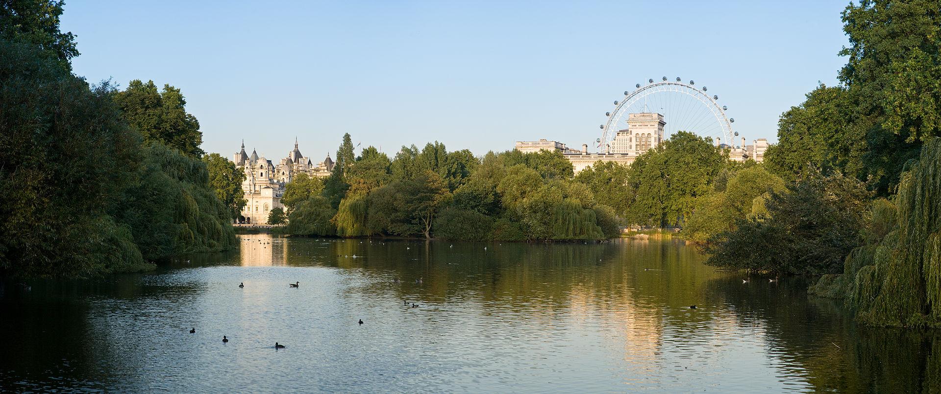 Saint James Park w Londynie